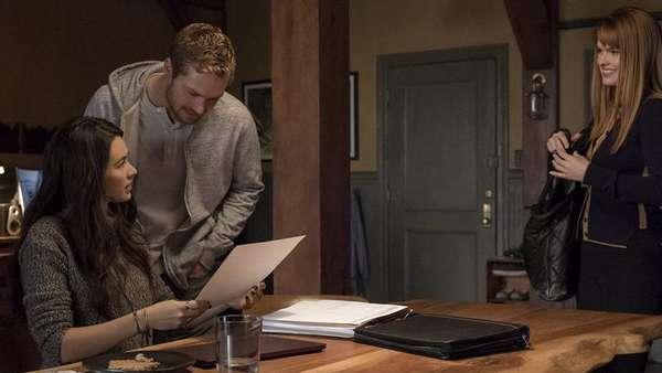 Кадр из сериала Железный кулак